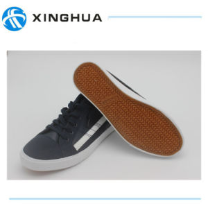 2017 Lace up New Hot Sale Wholesale Men′s Canvas Shoes pictures & photos