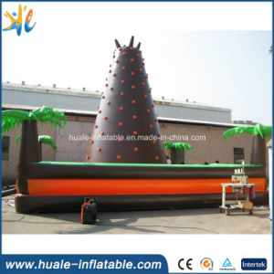 Popular High Quality Kids Climbing Wall, Inflatable Slide