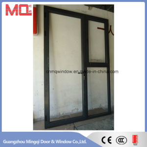 Aluminum Exterior Door with Opening Window Design