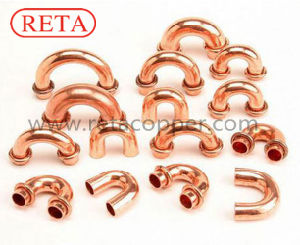 Copper Fitting U Bend ASME B16.22 Standard pictures & photos