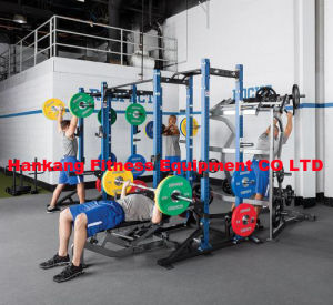 hammer strength weight plate, Olympic Bar, Interlock Rubber Mat HM-006 pictures & photos