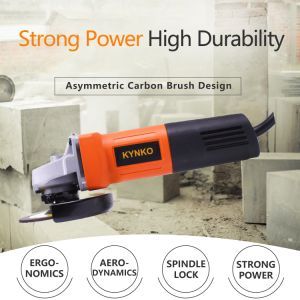 100mm Kynko Angle Grinder Portable Electric Power Tools (kd62)