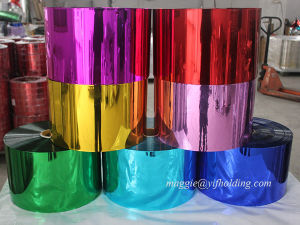 Metalized Polyester Colorful Film for Laminating pictures & photos
