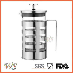 Wschxx034 Stainless Steel French Press Coffee Maker Hot Sell Coffee Press