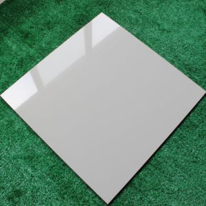 Soluble Salt Polished Porcelain Tile for Floor Middle White (AJC6203) pictures & photos