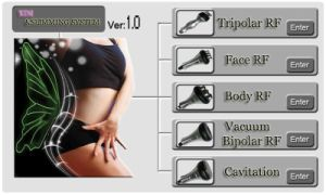 B0104 5 in 1 Ultrasound Cavitation Body Massage Fat Burning Machine pictures & photos