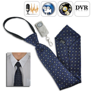 Mini Hidden Tie Camera Video Recorder