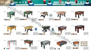 Cheap Soccer Game Table Foldable Football Table with L Shape Leg pictures & photos