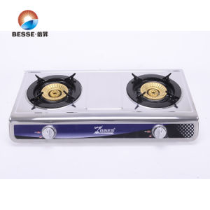 Double Burner Blue Fire Gas Stove pictures & photos