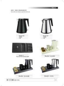 Kettle, Kettle Tray Sets, Hotel Room Amenities, Many Design for Optional pictures & photos