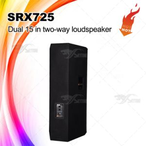 Srx725 Double 15 Inch PA System Speaker Cabinet pictures & photos