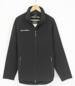 Men Softshel Bondedl Zip Through Sportswear Jacket