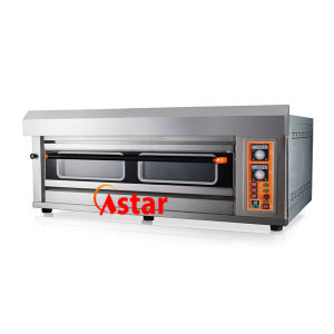 Customized 1 Deck 3 Trays Commercial Gas Oven Bread Baking Machine Kitchen Oven pictures & photos