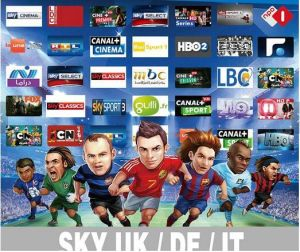 Full Europe and Arabic IPTV Channels Package Iudtv 1 Year Actvated Code TV  Channel