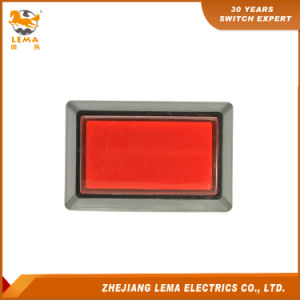 Lema Pbs-007 Illuminated Square Push Button Micro Switches pictures & photos