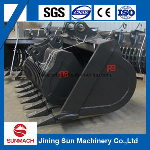 30t Excavator Grating/Grilling/Skeleton Bucket for All Brand Excavator pictures & photos