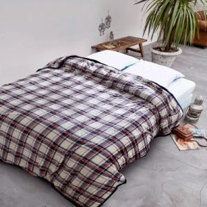 100% Polyester Proper Price Flannel Fleece Throw Blanket in China Factory