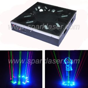 Disco LED Laser Dancer Platform