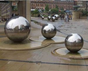 Stainless Steel Garden Gazing Ball