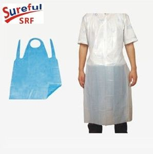 PE Apron with Individual Packing pictures & photos
