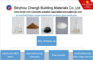 Concrete Water Reducer Polycarboxylate Super Plasticizer (PCE 50%)
