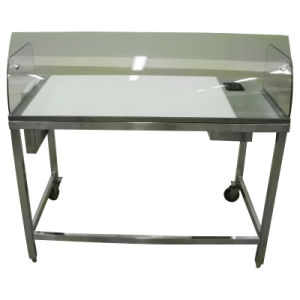 Gentil Stainless Steel Table For Fish Cleaning And Preparing In Restaurant And  Seafood Shop Retail Store