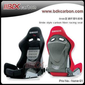 Bdk Bride Style Carbon Fiber Bucket Racing Seat