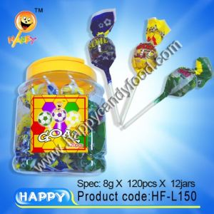Twist Wrapper Football Lollipop (HF-L150)