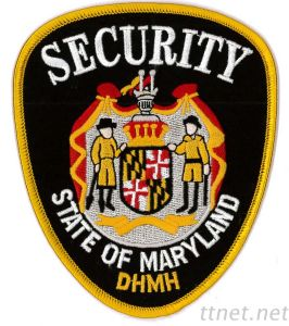 Embroidered Emblem-Security, Embroidered, Patch, Emblem pictures & photos