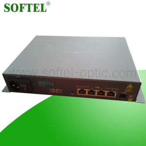 Softel ONU-4fe- Poe 4 Fe 10/100Mbps Gepon ONU, Epon Olt with Poe, Poe ONU for FTTX Solutions pictures & photos
