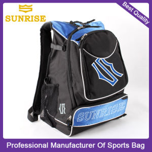 High Quality Polyester Sports Travel Youth Baseball Backpack Bag
