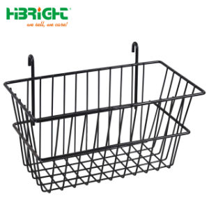 Metal Gridwall Accessories Display Basket