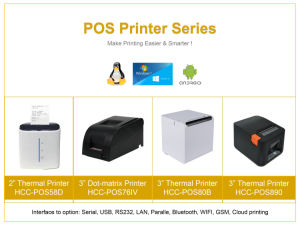 China Pos Thermal Receipt Printer, Pos Thermal Receipt