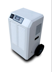 90L/D Industrial Dehumidifier Protable Big Wheels Metal Overlook Color Choose pictures & photos