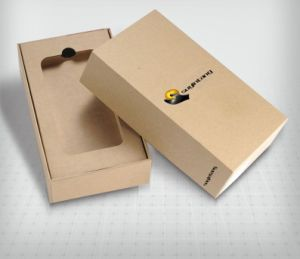 Branded Cardboard Paper Boxes for Electronics Products (FLB-9305)