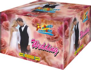 100shots 1.4G 0336 Wedding Cakes Fireworks (M3018)