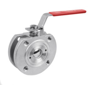 Stainless Steel Wafer Ball Valve with Lever Operator pictures & photos