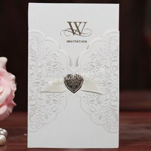 Custom Printed Name Wedding Invitation Card pictures & photos
