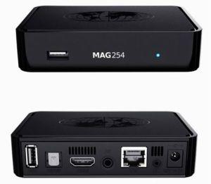 Mag254 IPTV Box Linux IPTV Box Ott Mag 250 European IPTV Ipk Mag250 Set Top  Box Hot Arabic IPTV Box