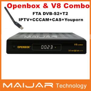 China Hot Selling Original Openbox V8 Combo DVB-S2+T2 Combo