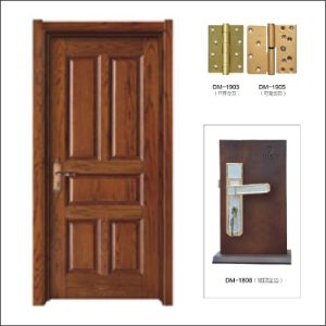 (FH2-M-007) Paint Solid Wood Door