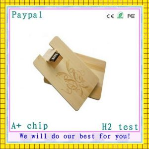 Hot! Factory Price Wooden USB Disk (GC-676) pictures & photos