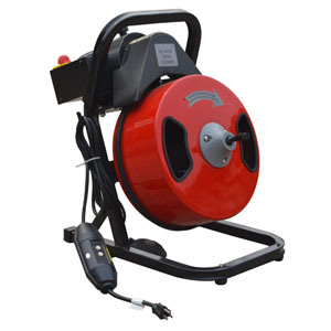 Pipe Cleaning Machine with Foot Switch