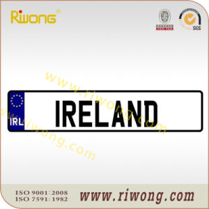 Blank Car Number Plate for Ireland pictures & photos