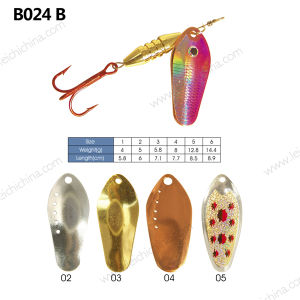 Shinning Metal Fishing Spinner Lure pictures & photos
