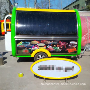 Customized BBQ Street Vending Mobile Food Cart pictures & photos