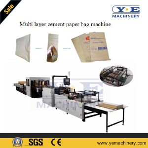 Multi-Layer Cement Kraft Paper Bag Machine with Printing pictures & photos