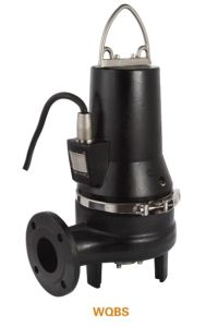 WQBS Heavy Duty Submersible Grinder Sewage Pump pictures & photos