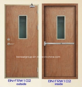 China Fire Rated Wooden Door Fire Proof Wooden Door (BN-FRW102 ...