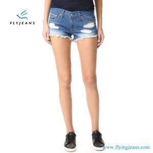Latest Fashion Skinny Ladies/Women Denim Short pictures & photos